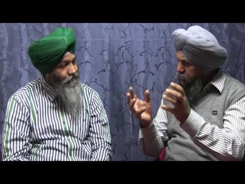 France Hunger strike studio (Media Punjab TV)