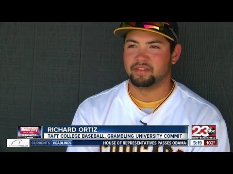 Taft College Baseball's Richard Ortiz Gearing Up For D1