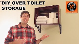 Custom Over The Toilet Storage -- By Home Repair Tutor