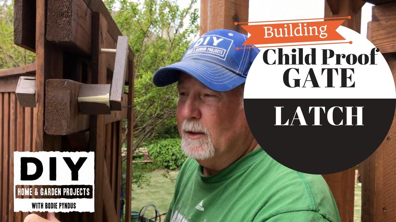Child Proof Gate Latch Youtube