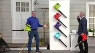 Sun Joe All Purpose 10-Amp Electric Blower with Variable Speed on QVC