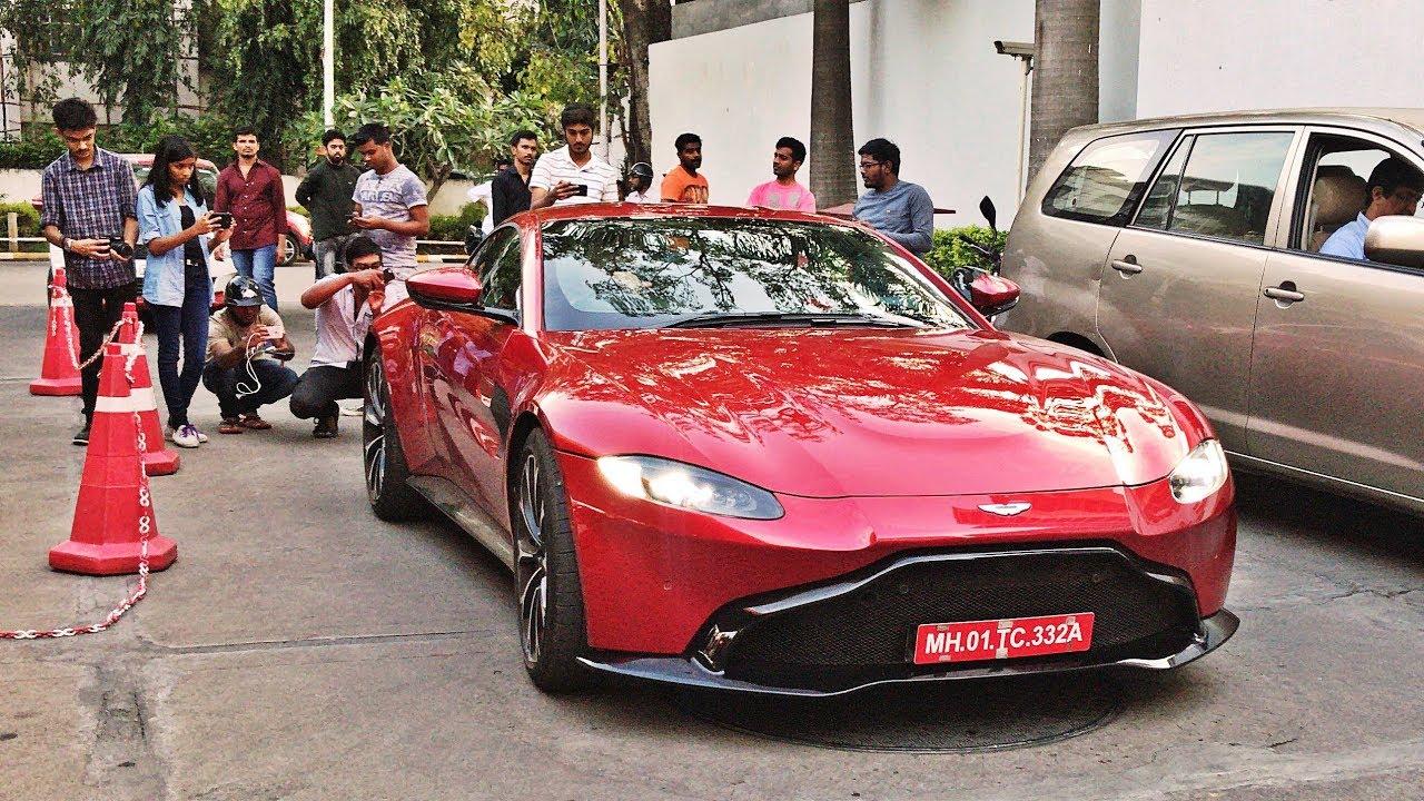 2019 Aston Martin Vantage In India Bangalore Youtube