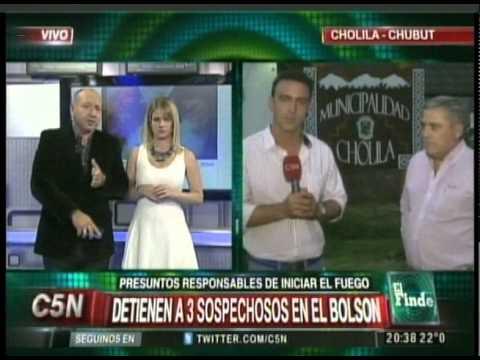 C5N - SOCIEDAD: INCENDIO EN LAGO PUELO