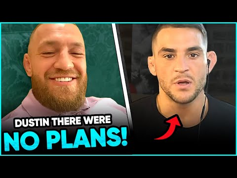 Conor McGregor reveals WHY he did NOT donate $500K to Dustin Poirier's charity, Dustin Responds, Mik