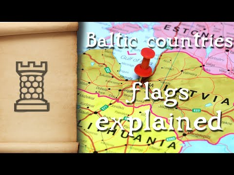 Baltic Countries Flags Explained