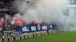KFC Uerdingen - Waldhof Mannheim (Relegation in Duisburg)