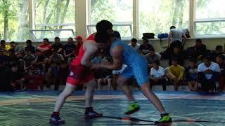 Спорт. Греко-римская борьба. Турнир Панфилова-2019. Мат A Часть 2