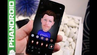 Samsung Galaxy S9 üzerinde AR Emoji Demo