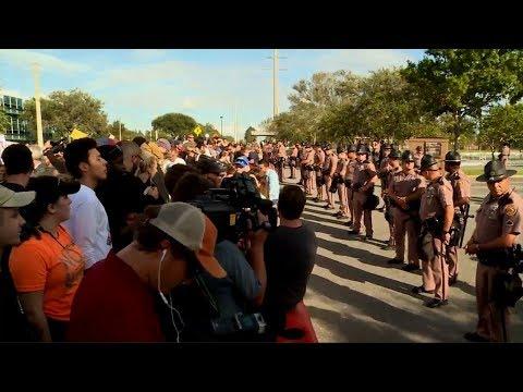 Richard Spencer speech draws mass opposition protest