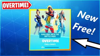 *NEW* SEASON 9 FREE OVERTIME CHALLENGES & REWARDS! (Fortnite)