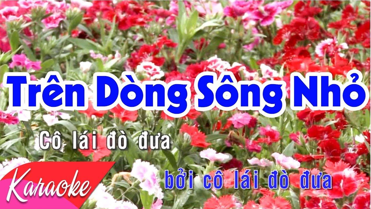 KARAOKE BOLERO 2018 | Trên Dòng Sông Nhỏ - St. Hàn Châu | Beat Chuẩn