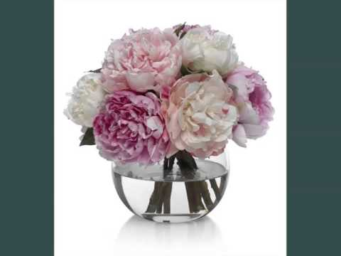 Peony Vase Picture Ideas For Wedding Peony Vase Romance Youtube