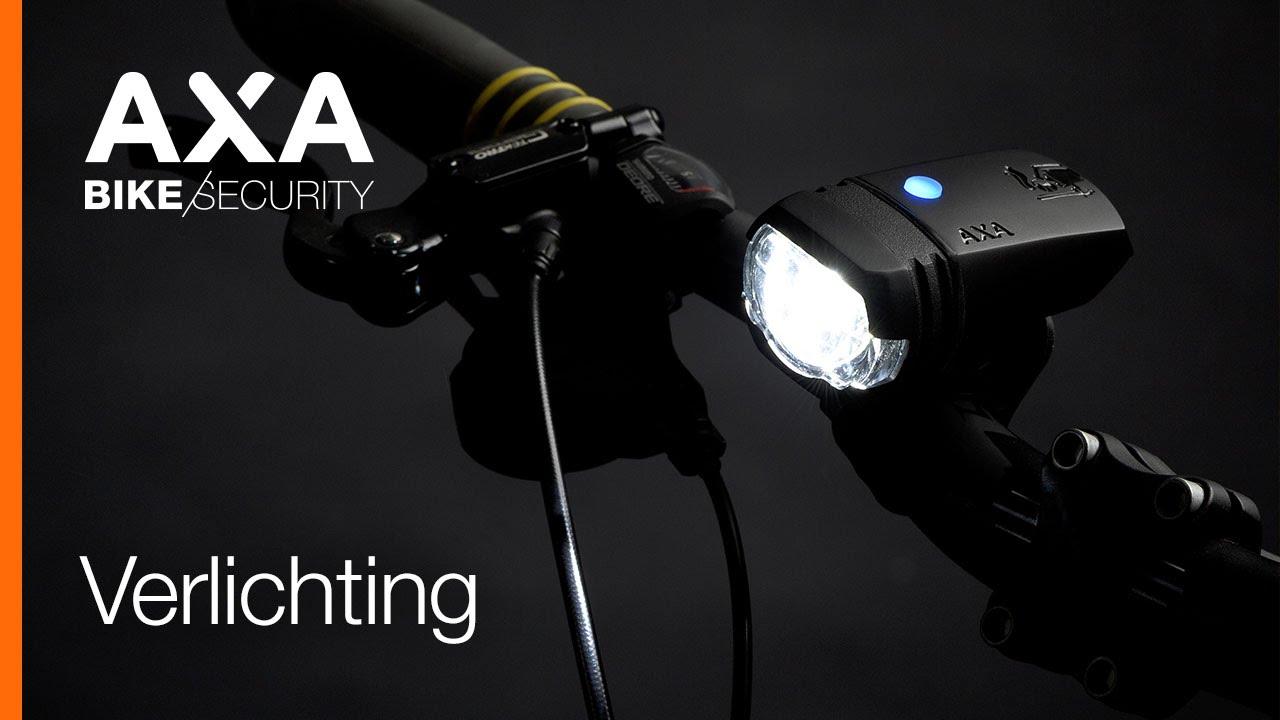 AXA Fietsverlichting (NL) - YouTube
