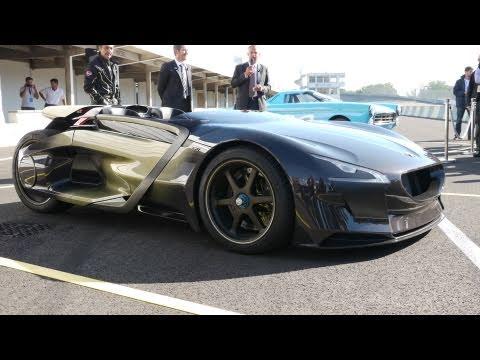 Peugeot EX1   Circuit De Linas Montlhery   YouTube