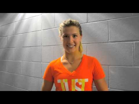 Getting to know Eugenie Bouchard - Fun Questions