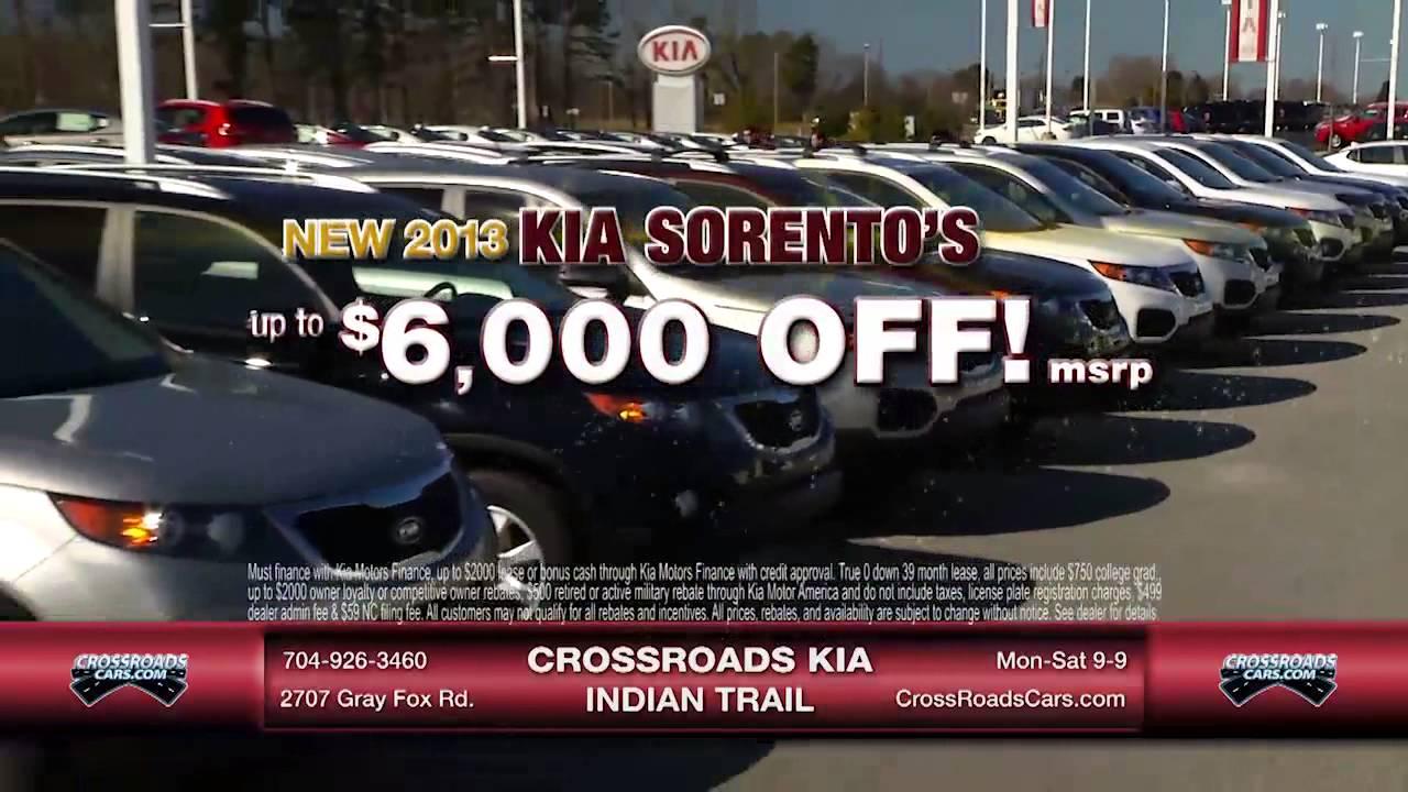 Crossroads Kia Indian Trail Optima Rio 3 27 13 Youtube