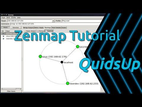Zenmap Tutorial - Network Scanning Tool