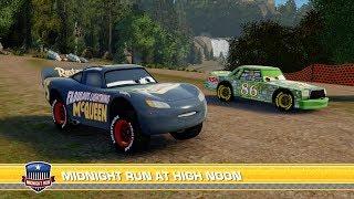 Disney PIXAR Cars 3 Fabulous McQueen Vs Chick Hicks & Lightning McQueen | Driven to Win