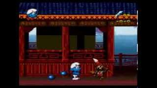 The Smurfs Travel The World / The Smurfs 2 - Mega Drive / Genesis Longplay