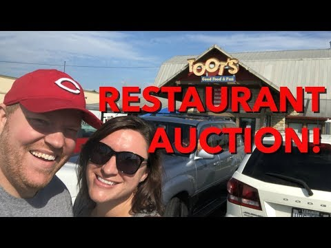 Restaurant Closed Down-We Went To The Auction!