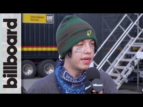 Lil Xan Talks XXXTentacion, Wanting to Spread Love & Positivity | Billboard Hot 100 Fest 2018