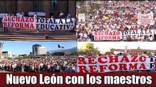 Nuevo León apoya a los Maestros