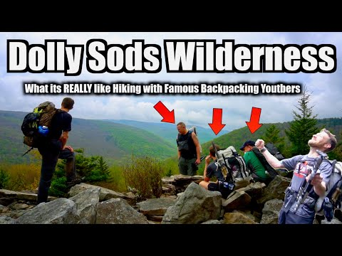 Dolly Sods Backpacking Adventure | What it's really like hiking with FAMOUS backpacking YouTubers