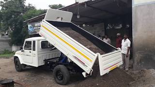 Bolero pickup EXTRALONG, Hydraulic tipping, Contact ANAND HYDRAULIC & ENGG. 9823498454 /9823667929