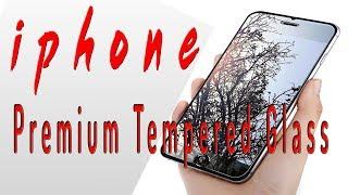 iphone screen protector review    iphone x screen protector   premium tempered glass iphone