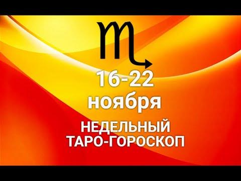 ♏СКОРПИОН. Таро-прогноз. Гороскоп на 16-22 ноября 2020 @Ирина Захарченко! Авторская Школа ТАРО
