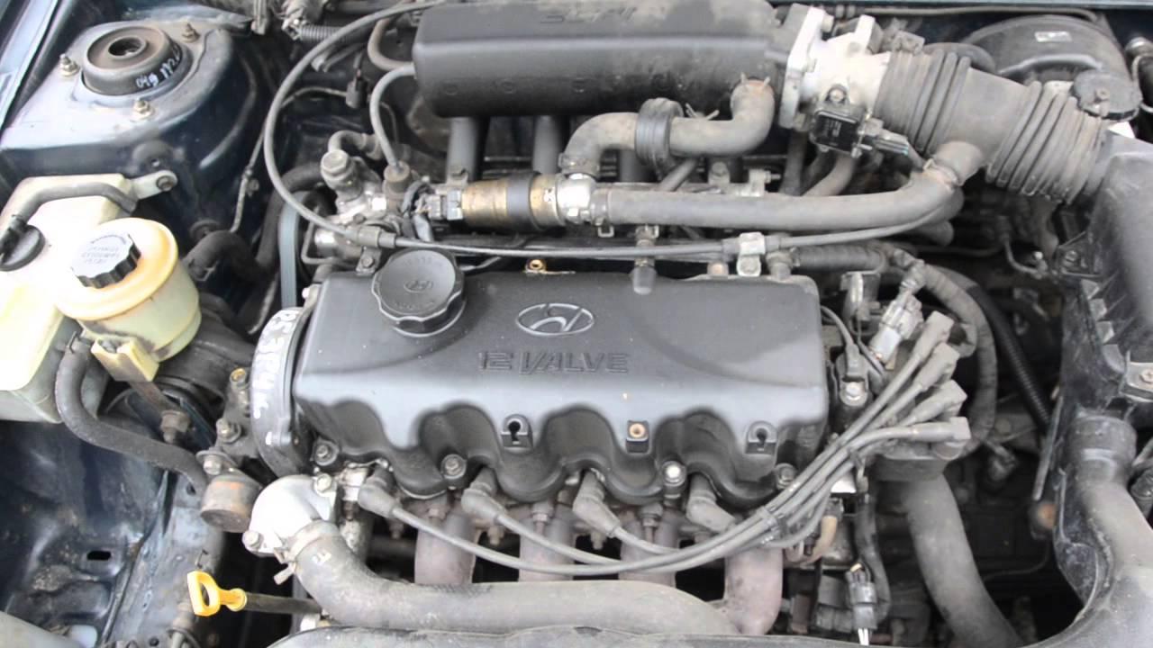 2003 Hyundai Getz Wiring Diagram Двигател за Hyundai Accent 1 3 12v 84 к с седан 1999 г