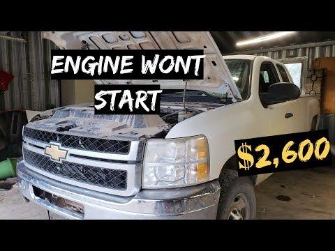 ENGINE WONT START $2,600 CHEVY Silverado 2500 4X4 PT.2