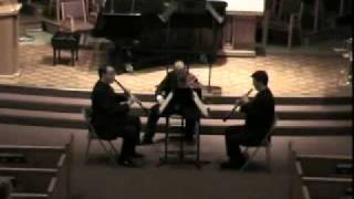 Helix 7 - Trio for Oboe, Clarinet, and Viola by Randall Thompson - 2. Adagio Assai