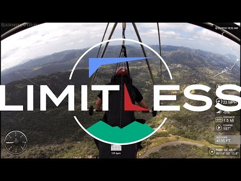 LIMITLESS-Saul Richard and Scott Untiedt Hang gliding Dunlap-UNCUT