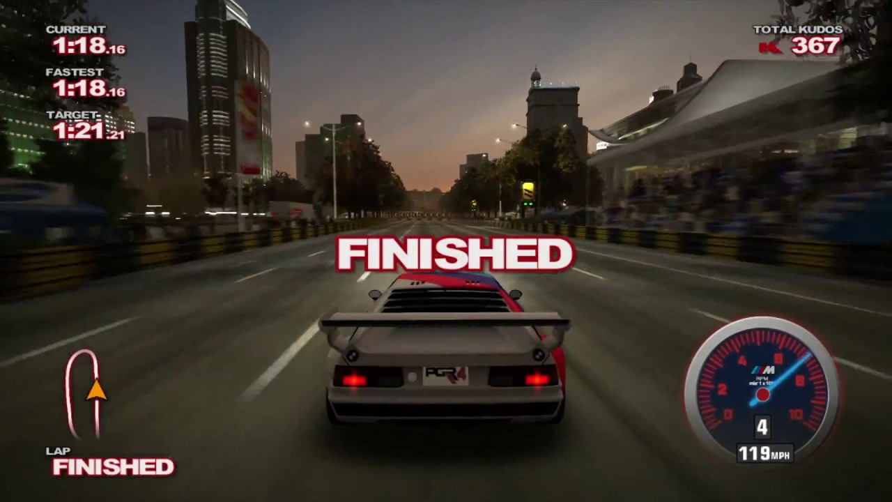 Project Gotham Racing 4 SHANGHAI YouTube