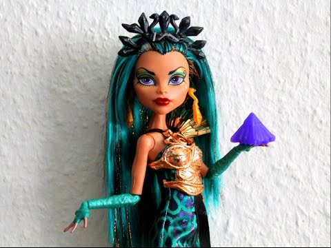 Monster high nefera de nile boo york boo york doll review youtube - Nefera de nile ...