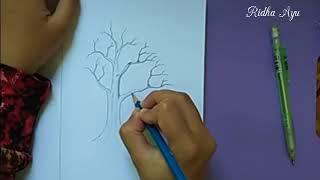Draw Tree without Leaves (Menggambar Pohon tanpa Daun)