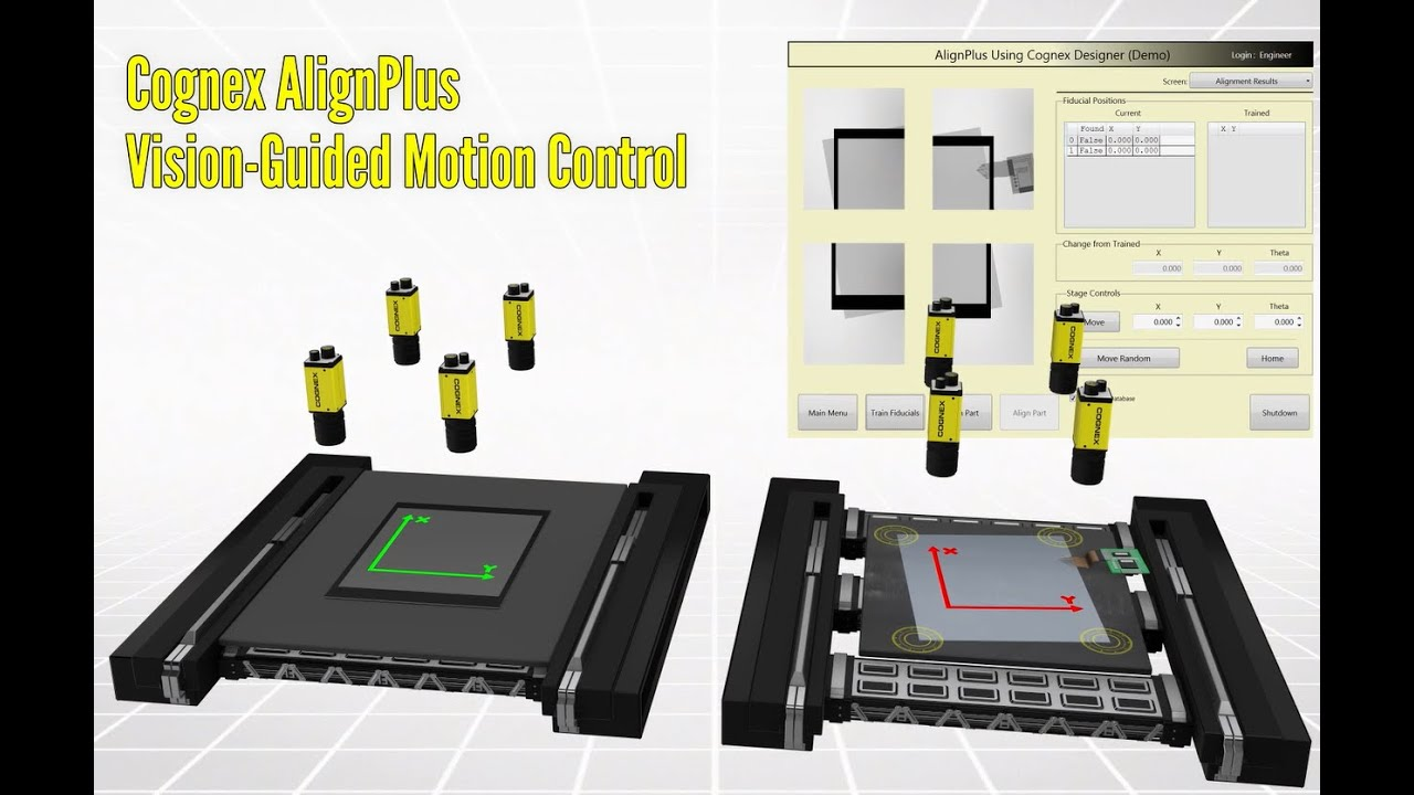 AlignPlus Vision Guided Motion Control