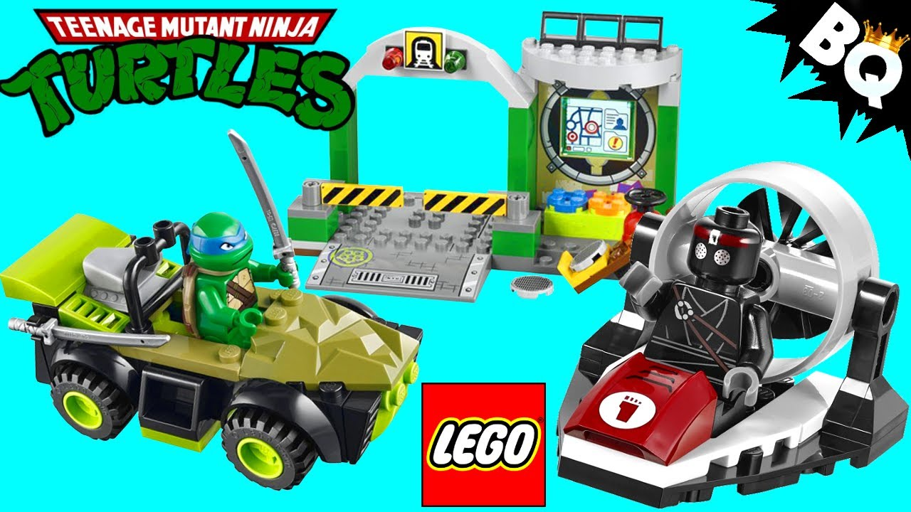 LEGO Turtle Lair 10669 Ninja Turtles Juniors Review - YouTube