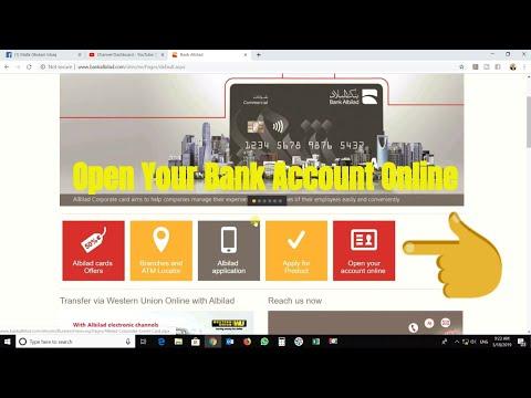 Open Bank Account online With Bank AlBilad 2019   Online Banking in Saudi Arabia  