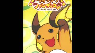 Raichu Fandisc - The Mouse Rescued All The Electricity