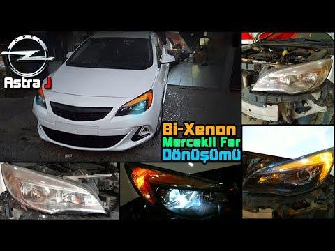 Opel Astra J // Led Bi-Xenon Far Dönüşümü