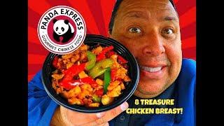 Panda Express® 8 TREASURE CHICKEN BREAST Review!