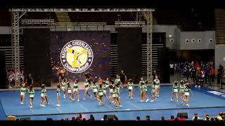 2018 NCC Finals - All Girl Senior Cheer - DLSZ