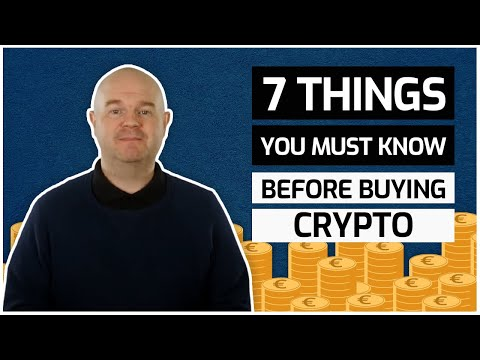 7 Key Things You Should Know Before Investing In Bitcoin and Cryptocurrencies