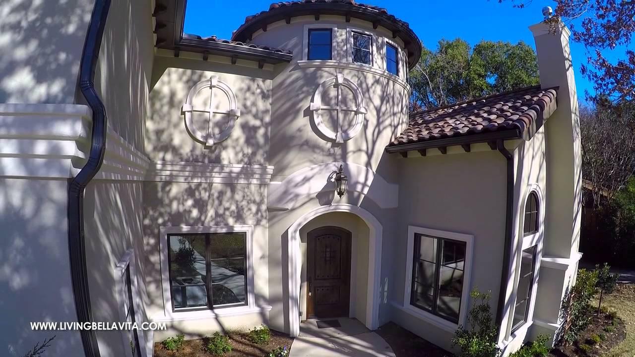 Bella Vita Custom Homes Presents Mediterranean Villa Youtube