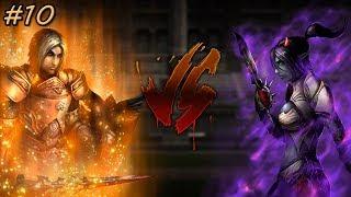 Наточенная битва   Paladin VS Abyss Walker   Выпуск 10