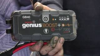 NOCO GENIUS GB40 BATTERY JUMP STARTER REVIEW