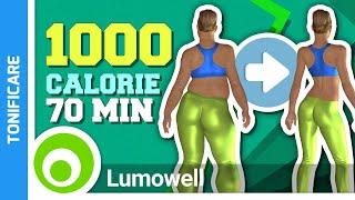 Allenamento Completo Per Tonificare Tutto Il Corpo E Dimagrire - Brucia 1000 Calorie A Casa