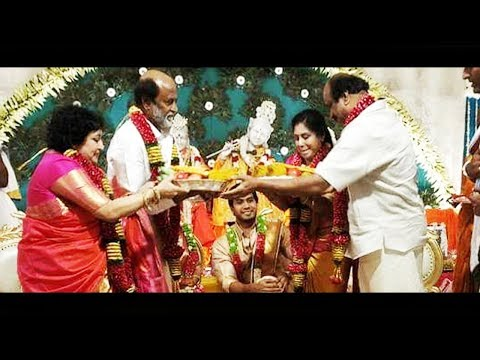 Rajiniaknth Daughter - Soundarya Rajinikanth & Visakan Full Wedding Video |
